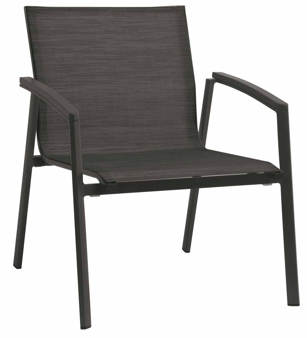Stern. New Top Lounge-Sessel, anthrazit/karbon